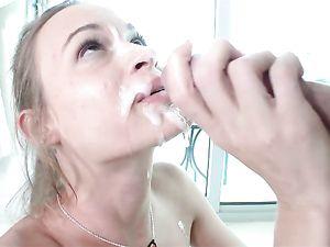 Tiny Girl And A Big Cock Make A Hardcore Fuck Scene