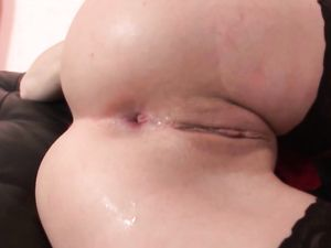 Toys And A Dick Satisfy Her Anal Cravings