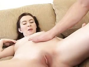 Trainer Feeds His Cute Teen Client A Stiff Cock