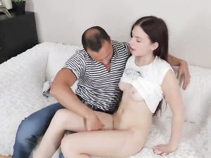 Russian Teen Asshole Fucked And Covered In A Hot Cumshot