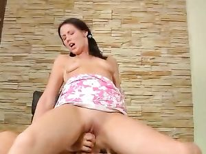 Pigtails Make Her Even Easier To Pound