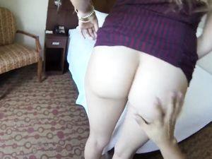 Messy Cum Shot For A Brunette Babe After Sex