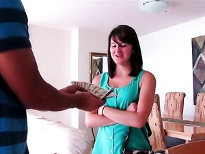 Hotel Room Pounding With Brunette Princess