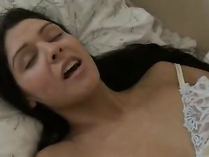 Joyful Masturbation Makes A Fit Brunette Horny