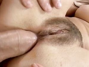 Breathtaking Big Naturals On A Naughty Anal Slut