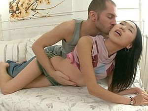 Skinny Asian Loves Being Penetrated By Her Boyfriend