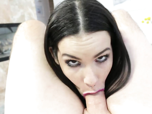 Dick And Ball Sucking Is Better With Pink Lipstick