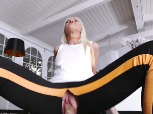 Marie McCray Plays As A Bleach Blonde Cock Slut