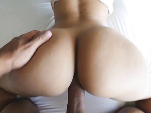 Stepbrother Cock Makes Her Pussy Wet With Desire