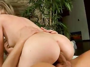 Pantyhose Girl Filled And Fucked By His Thick Cock